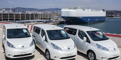 furgoneta eléctrica, Nissan, e-NV200, récord, pedidos, Europa,