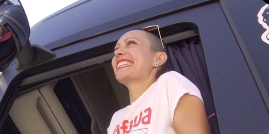 camionera, Oti Cabadas, camionera, normalidad, profesión, vídeo,