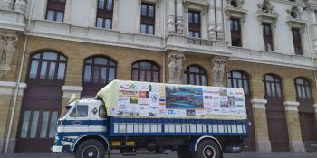 pegaso, solidario, llega, Bilbao, fotos,