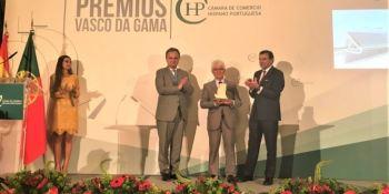 Luís Simões, premio, Vasco de Gama, excelencia, empresarial,