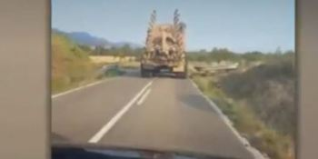 camión, tractor, visto en la red, conductores, turismo,