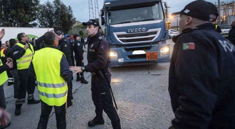 huelga Portugal, camioneros, entrevistas, sociedad, economía,