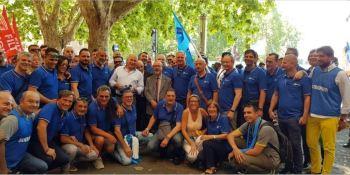 seguimiento, huelga, sector, transporte, Italia