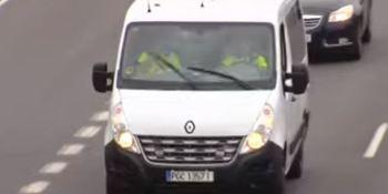 furgonetas, camufladas, DGT, atrapar, infractores, vídeo,