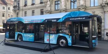 ciudades europeas, autobús, Solaris, hidrógeno, empresas, transporte público,