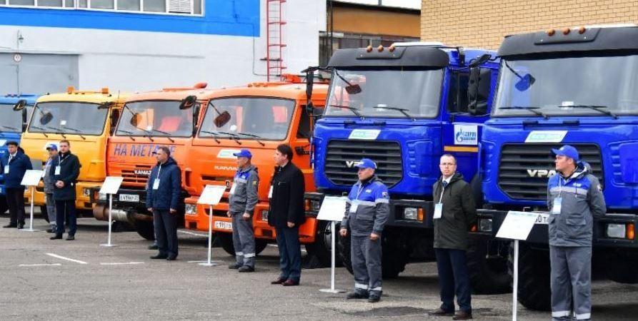 empresas, Gazprom, GNC, flota, camiones, combustibles,