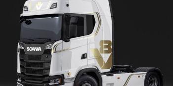 Scania V8, edición especial, empresas, aniversario, 50 años, fabricantes del sec