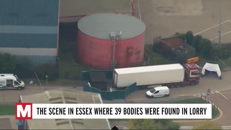 arrestado, camionero, descubrir, 39 cadáveres, interior, camión,