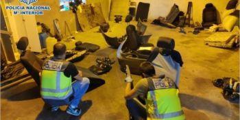 desarticulado, grupo, especializado, robo de vehículos, despiece, venta, piezas, fotos, vídeo,