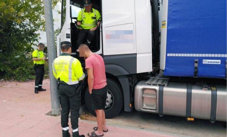 detenido, camionero, multiplicar, diez, tasa, alcoholemia,