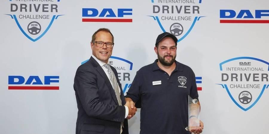 ganador, concurso, conductores, Europa, DAF, empresas, fabricantes del sector,