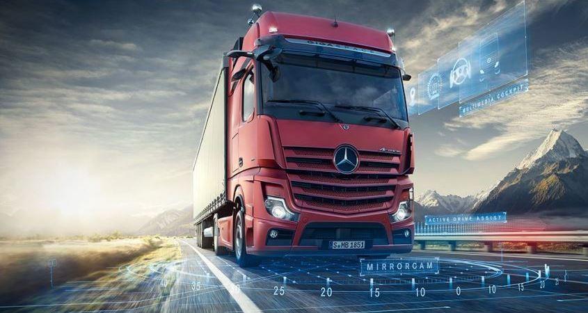 Mercedes-Benz, presenta, nuevo, Actros, fotos, vídeo,