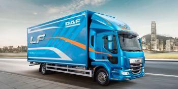 serie, LF, DAF, galardonada, camión, año, 2019, Reino Unido,