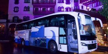 Alsa, control, empresa, autobuses, Gumidafe, Canarias,