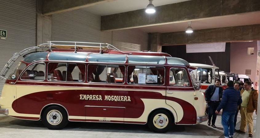 ExpoBus Iberia, visitantes, autobuses, antiguos,