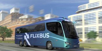 FlixBus, autobuses, hidrógeno, Europa, larga distancia,