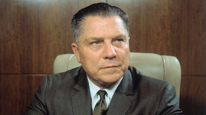 Jimmy Hoffa, líder, sindicalista, camioneros, Estados Unidos, muerte,
