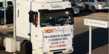 Transcont, Puerto Valencia, acceso, camiones, asociaciones,