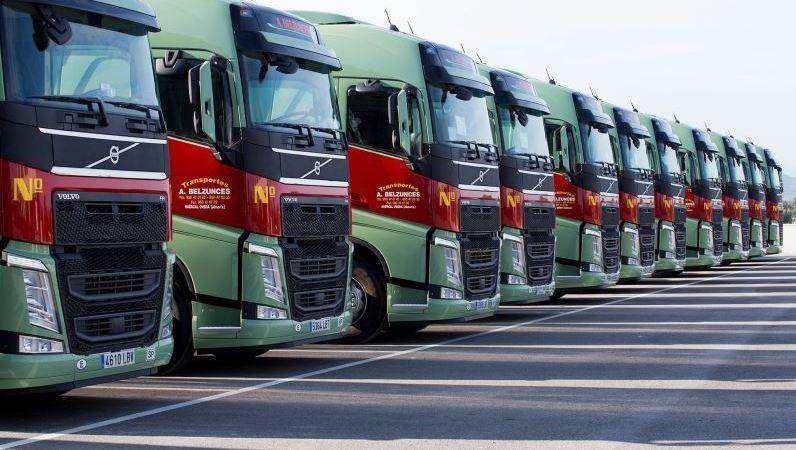 Transportes Belzunces, camiones, Volvo, compra. empresas,