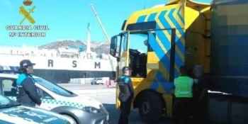 camionero, alcohol, detenido,