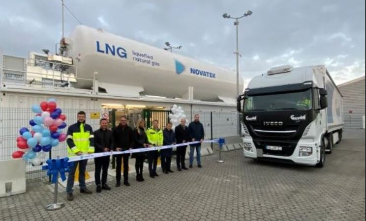 Novatek, primera, gasinera, Alemania,