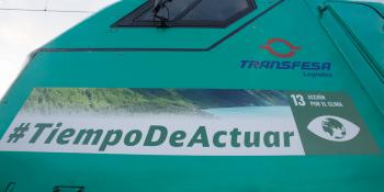 lema, Cumbre del Clima, Madrid, Transfesa, ferrocarril,