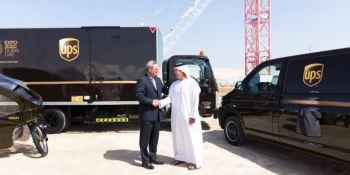UPS, Dubai, expo 2020,envío,