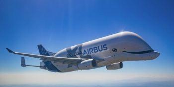 entra, servicio, Beluga XL, Airbus, avión, carga, fotos,