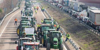 protesta, agricultores, Ciudad Real cortará, hoy, A-4, A-43,