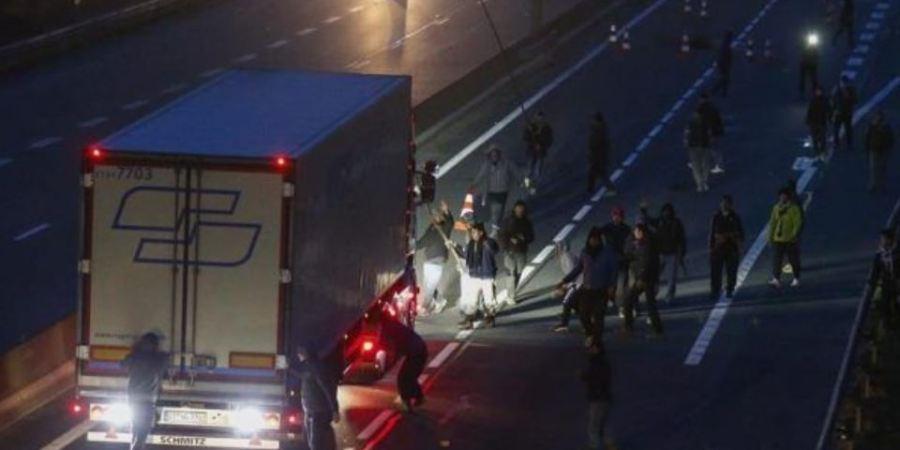Camioneros, británicos, quejas, ataques, migrantes,