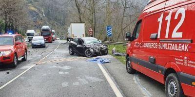 fallecido, accidente, N-121-A, camión,. coche,