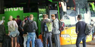 FlixBus, autobuses, empresas, cuatro continentes,