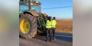 guardia civil, multa, agricultores, extremadura,