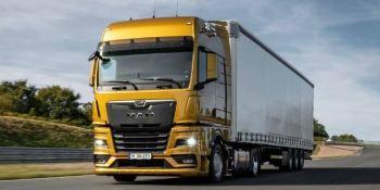 MAN, nuevo, camión, cabina, motores, exterior, interior,