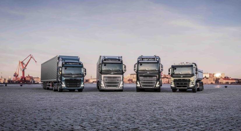 Volvo Trucks, presenta, nuevos, camiones, centrados, conductor, vídeo,