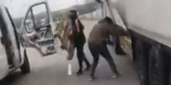 robo, palets, impunidad, camioneros, vídeo,