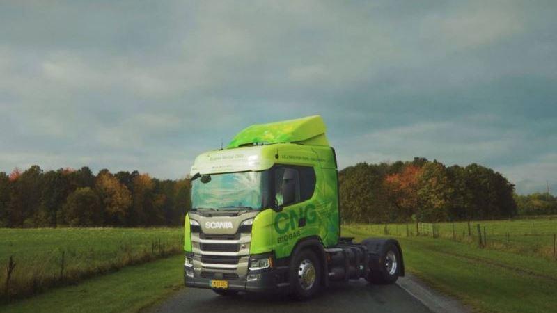 Scania, alquiler, biogás, prueba, clientes,
