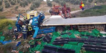 fallece, camionero, vuelco, vehículo, Cádiz,