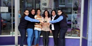 #MujeresEnRuta, trabajadoras, sector, visualizar, Autos González, lanza, campaña,