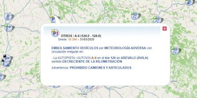 embolsamiento, camiones, Arévalo, Ávila, dirección, Madrid,