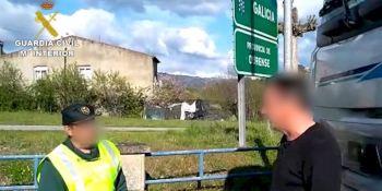 Guardia Civil, escolta, camión, material sanitario, Portugal, Elche,