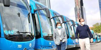 Madrid, 15 nuevos, autobuses, eléctricos, BYD,