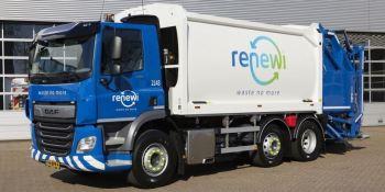 empresa, gestión, residuos, Renewi, camiones, DAF,