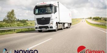 Girteka Logistics, Norvigo, transformación digital, operaciones, transporte,