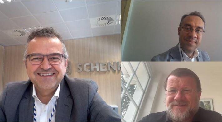 Acuerdo solidario entre Transfesa Logistics, DB Schenker y Arriva