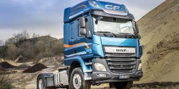 Los camiones DAF con tracción delantera conmutable