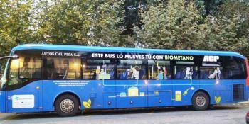 Premio a un proyecto con autobuses a biometano