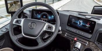 10 preguntas y respuestas sobre el Multimedia Cockpit en el Mercedes-Benz Actros