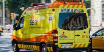 Un herido grave al chocar dos camiones y tres coches en el túnel de Bracons
