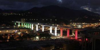 El nuevo puente de Génova abrirá el 3 de agosto limitado a 70 km/h en un tramo